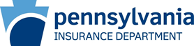 Pennsylvania Insurance Department logo in dark blue