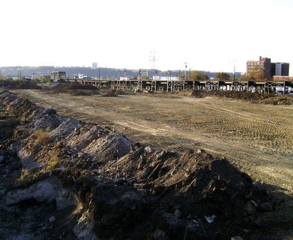 Large, empty dirt area