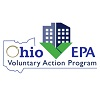 Ohio EPA Voluntary Action Program, Ohio outline and building icon in green V
